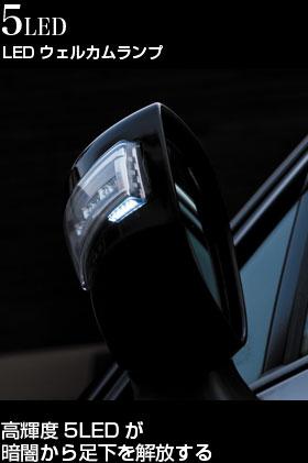 ジュエルLEDドアミラーウィンカー キャラバン NV350 (E26)